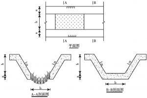 图5 梯形不加封底工法示意