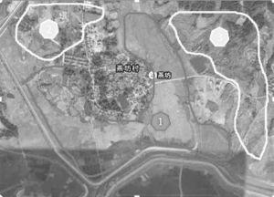 图2-5 燕坊村水田与旱地分布图