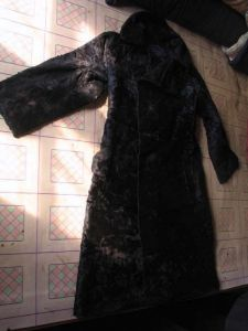 图1-111 毛皮长袍(作者拍摄)