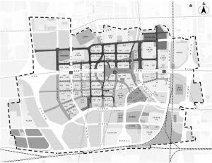 图1 北京丽泽金融商务区规划示意