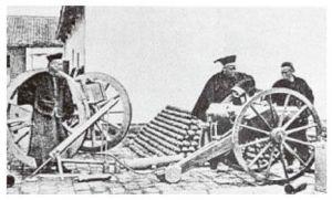 """图1-1 清代最早的""""洋务学堂""""(1905)"""