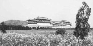 南阙门遗址保护建筑外观