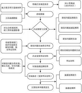 图1 遥感监测工作流程