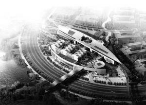 图3-13 广州大学城(作者拍摄)