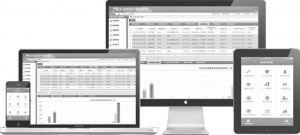 图3 柯渡医疗设备资产管理系统的多屏共享