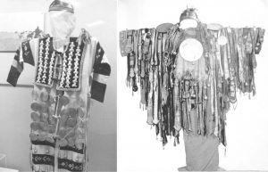 图4-13 萨满神服及各种饰物