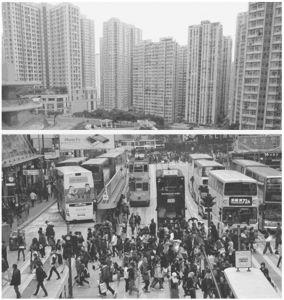 图6 拥挤的城市环境