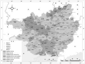 图5-2 广西壮族自治区主体功能区划分类型